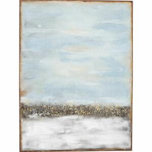 Dipinto ad acrilico Abstract Horizon